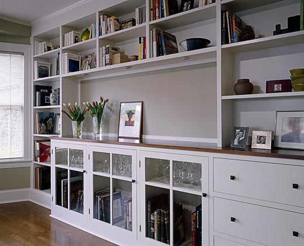 Jensen bookcase angle