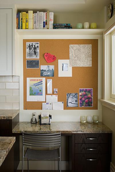 Doyle kitchen desk nook